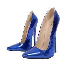 Blue Designer Heels Amazon Com Sorbern Blue Shoes High Heels Pump Women Heels