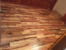 Image of: Installing a Pallet Wood Floor