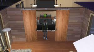 functional sliding door sims 4