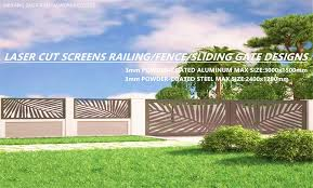 laser cut decorative outdoor garden