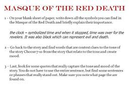 poe continued ppt  masque of the red death 1 on your blank sheet of paper write down
