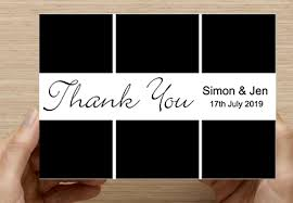 Thank You Cards Design Your Own Wedding Thank You Card Single Wedprint Pro