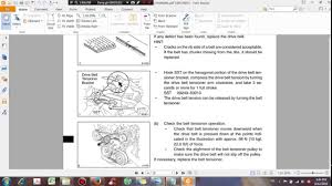 Toyota Engine 1AZ FSE Repair Manual - DHTauto.com - YouTube