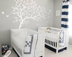 details about white tree wall decal nursery wall decoration ideas birds wall stickers kw032r