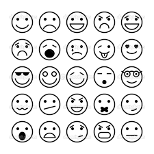 Small Picture Feelings Faces Coloring Pages Contegricom