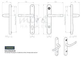 more views eurospec pro secure door handle