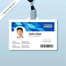 Awesome Free Id Card Template Images Student Psd Download
