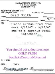 Doctors Note For The Flu Fake Doctors Note How To Get A Dr For Flu Shot Post Beadesigner Co