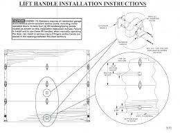 garage door head detail cad white lift handle step plate magnificent