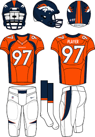 Denver Broncos Home Uniform - National Football League (NFL) - Chris ...