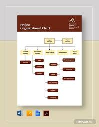 10 Vertical Organizational Chart Google Docs Ms Word Pages