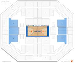 O Connell Center Seating Chart Exactech Arena Oconnell Center Florida Seating Guide