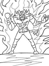 Coloring Pages For Kids Of Pokemon With Pokemon Sun And Moon