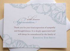 Personalized Sympathy Thank You Cards 99 Best Sympathy Thank You Cards Images In 2019 Funeral Flowers