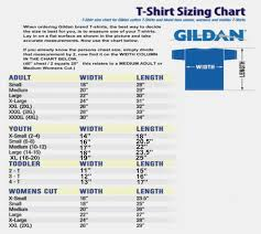 Gildan Shirt Size Chart Unisex Youth Shirt Sizes Online Charts Collection