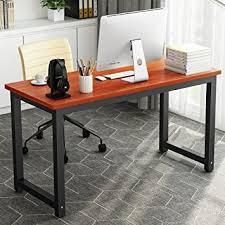 home office writing desk. 55\u0026quot; computer desk , little tree large office study writing / table workstation home