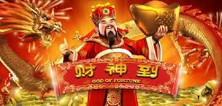 Test your luck in the God of Fortune Slot Game