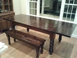 extendable farmhouse table. DIY Extending Dining Table Extendable Farmhouse U