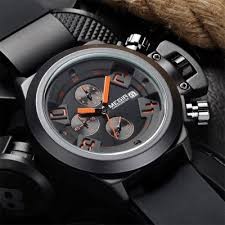 megir 2002 quartz watch for men shipping everbuying megir 2002 date function water resistant male quartz watch silicone band working sub dials