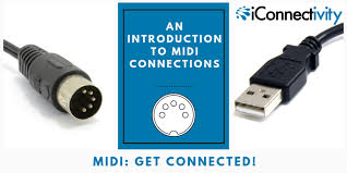 Midi Specification Chart An Introduction To Midi Connections Iconnectivity