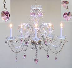amazing chandeliers for little girl rooms in white