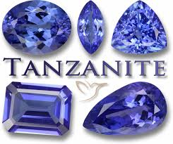 Tanzanite Color Chart Tanzanite Information Africas Wonder Risen From The Ashes