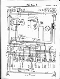 technical 59 f100 wiring problem the h a m b 1956 Ford F100 Wiring Diagram here's a diagram for a 6cyl '59 ford car it's probably very close, if not identical to the '59 f100 1965 ford f100 wiring diagram