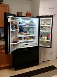 monochromatic stainless steel. French Door Refrigerator In Monochromatic Stainless Steel WRF535SMBM At The H