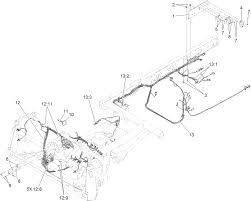 Front and rear wire harness assembly