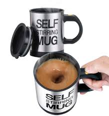 Find the perfect style and size of ceramic, porcelain or other mug for morning marketing. Amazon Com Stainless Steel Coffee Mug Self Stiring Mugs Electric Automatic Mixing Cups For Stir Coffee Milk Mix Juice Drink And Plastic 300ml 12 16 Oz Black Kitchen Dining