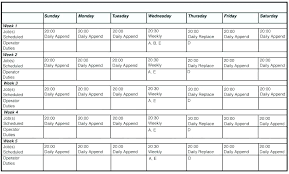 Daily Planner Standard Hours Printable Hourly Schedule Maker