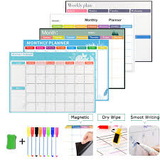 magnetic weekly monthly planner