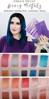 urban decay heavy metals palette i ve got my urban decay heavy metals palette review afterdark parison makeup tutorial and video to share with you