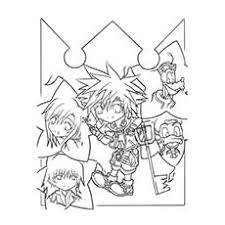 Small Picture Top 25 Free Printable Kingdom Hearts Coloring Pages Online