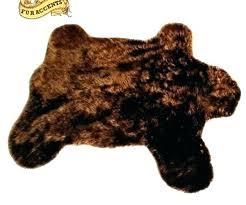 faux bear skin rug fake bear skin rug with head faux bear skin rug with head faux bear skin rug
