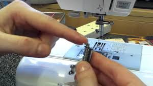 How to Fit a Free Motion Quilting Foot on a Sewing Machine - YouTube & How to Fit a Free Motion Quilting Foot on a Sewing Machine Adamdwight.com