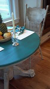 distressed table and chairs that craig and i did