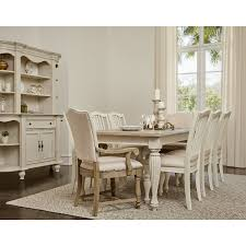 City Furniture Coventry TwoTone China Cabinet - Dining room table and china cabinet