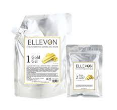 "<b>Альгинатная маска с</b> золотом (гель+коллаген) <b>Ellevon</b> ""<b>Ellevon</b> ..."