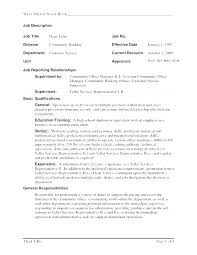 Good Resume For Bank Teller Resume For A Bank Teller Job Description ...