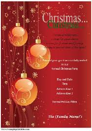 Invitations In Word Template Christmas Invitation Template With Chr Superb Microsoft Christmas
