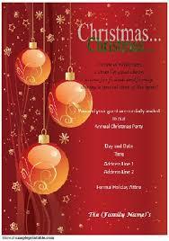 Christmas Invitation Template With Chr Superb Microsoft Christmas