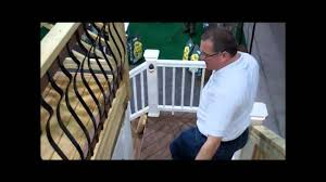 Types of deck railings Composite Types Of Deck Railing Available Youtube Types Of Deck Railing Available Youtube
