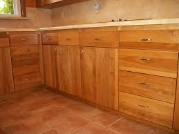 Natural Oak Kitchen Cabinets Furniture Have A Rustic Unfinished Base Cabinets For Home