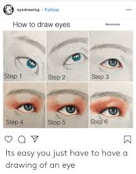 How To Draw Eyes Step By Step E Y Eyedrawing Follow Drawino How To Draw Eyes Step 1 Step 3