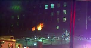 Manhattan'da korkutan yangın