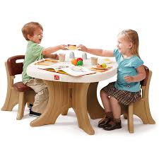 Table Set For Kids Step2 New Traditions Table And 2 Chairs Set Your Choice Of Colors