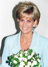 princess diana is presented with the first rose to be named after her at the british lung foundation offices on april 21 1997 in london england
