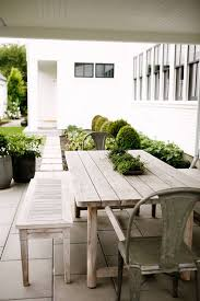 farmhouse patio table outdoor farmhouse table for