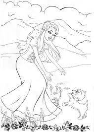 Small Picture 100 ideas Printable Coloring Pages Barbie Mermaid on kankanwzcom